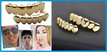 Гриллз для зубов с Али