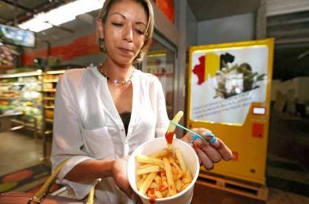 Картофель фри автомат