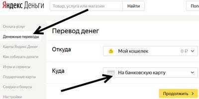 Яндекс деньги и привязка карты