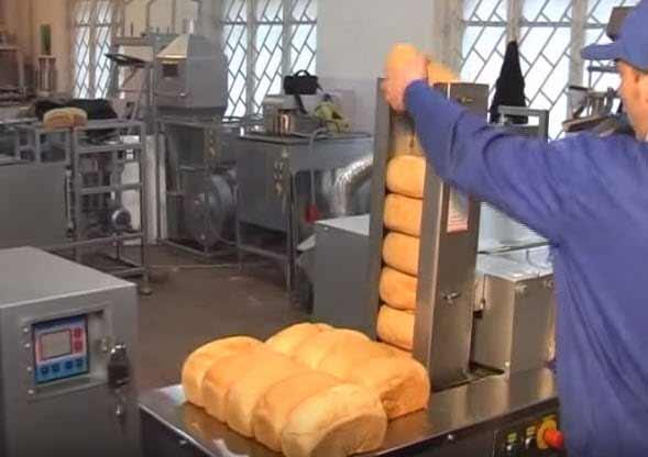 Производство сухариков