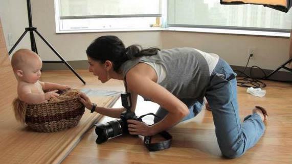 Заработать женщине на фото
