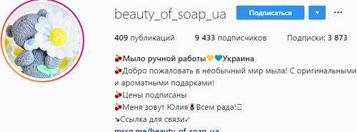 Инстаграм примеры профилей